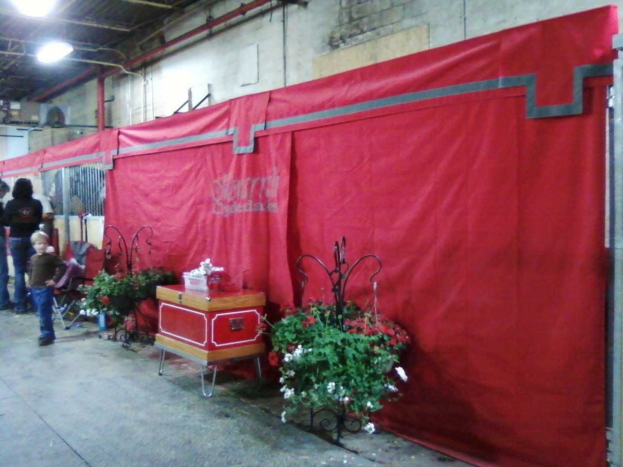 Stall Decorations